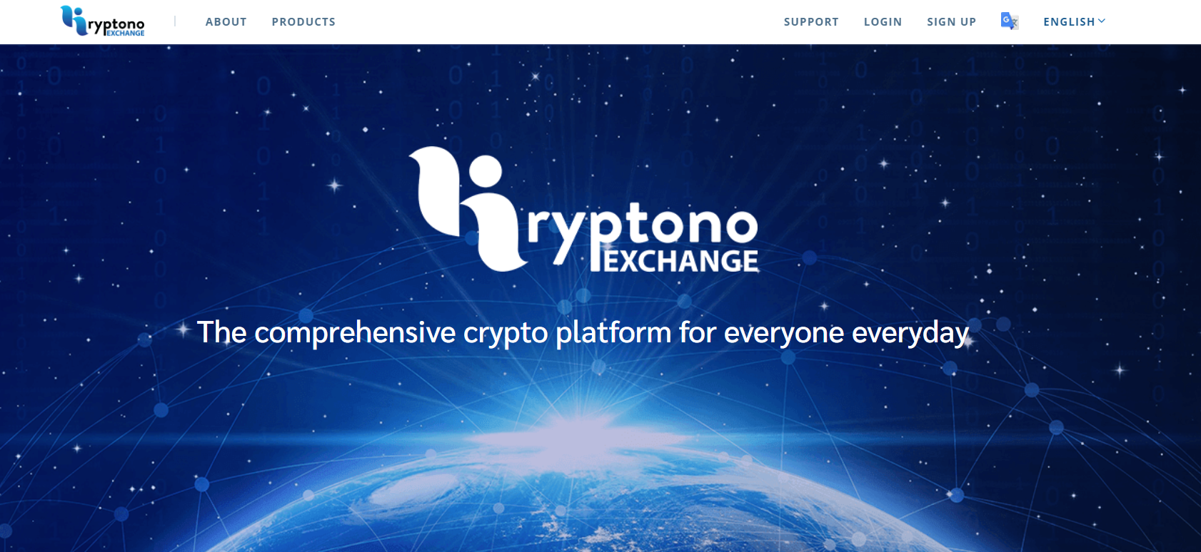 kryptono interface